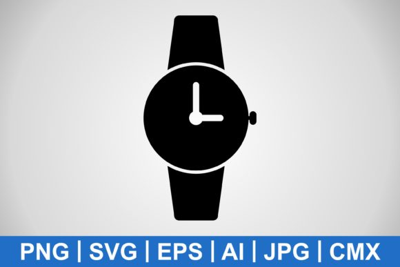 Print on Demand: Vector Watch Icon Graphic Icons By IYIKON