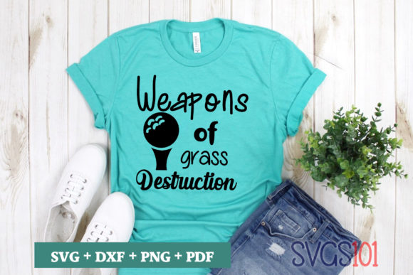 Weapons of Grass Destruction Graphic Illustrations By svgs101