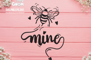 Bee Mine Graphic Crafts By babyGnom