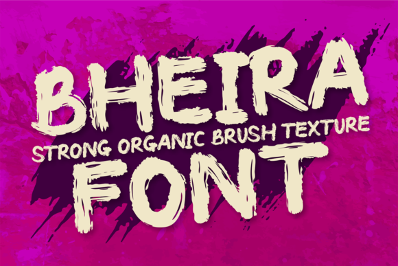 Print on Demand: Bheira Display Font By brithostype