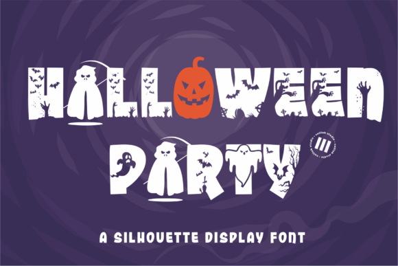 Print on Demand: Halloween Party Display Font By colllabstudio