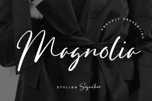 Print on Demand: Magnolia Script & Handwritten Font By CreatypeStudio
