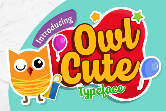 Print on Demand: Owl Cute Display Font By brithostype