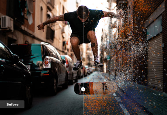 03 Dispersion Photoshop Action Graphic Actions & Presets By artgalaxy