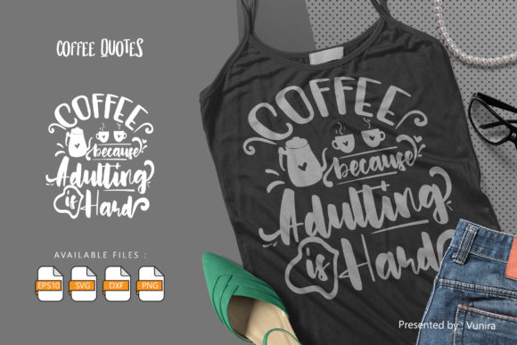 10 Coffee Bundle | Lettering Quotes Graphic Preview