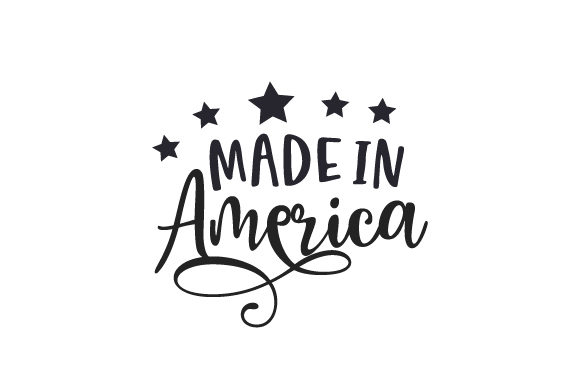 Made in America Independence Day Craft Cut File By Creative Fabrica Crafts
