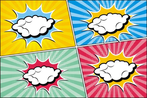 Print on Demand: Comis Speech Cloud Best Template Graphic Graphic Templates By edywiyonopp