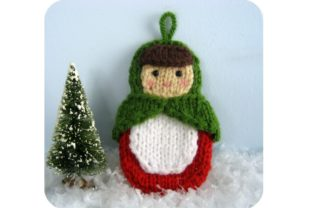 Knit Matryoshka Doll Ornament Pattern Graphic Knitting Patterns By Amy Gaines Amigurumi Patterns