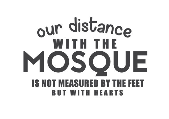Print on Demand: Our Distance with the Mosque Graphic Illustrations By baraeiji