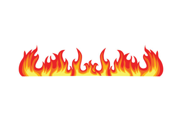 Line of Flames Cut File
