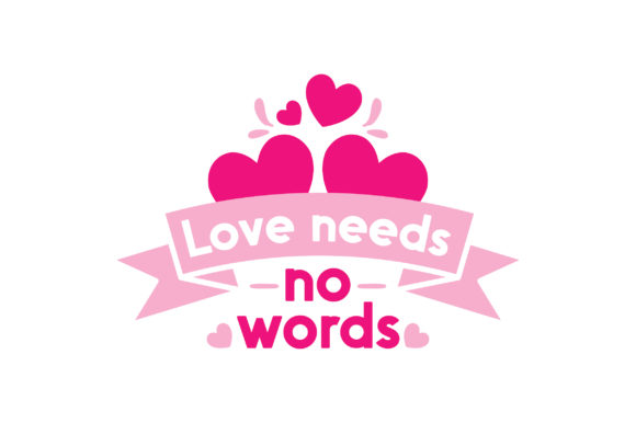 Love Needs No Words Awareness Craft Cut File By Creative Fabrica Crafts