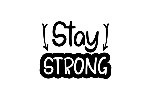Stay Strong Awareness Craft Cut File By Creative Fabrica Crafts
