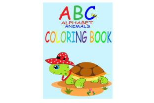 Print on Demand: ABC Coloring Book. ABC Animal Alphabet, Graphic Illustrations By Lillyrosy