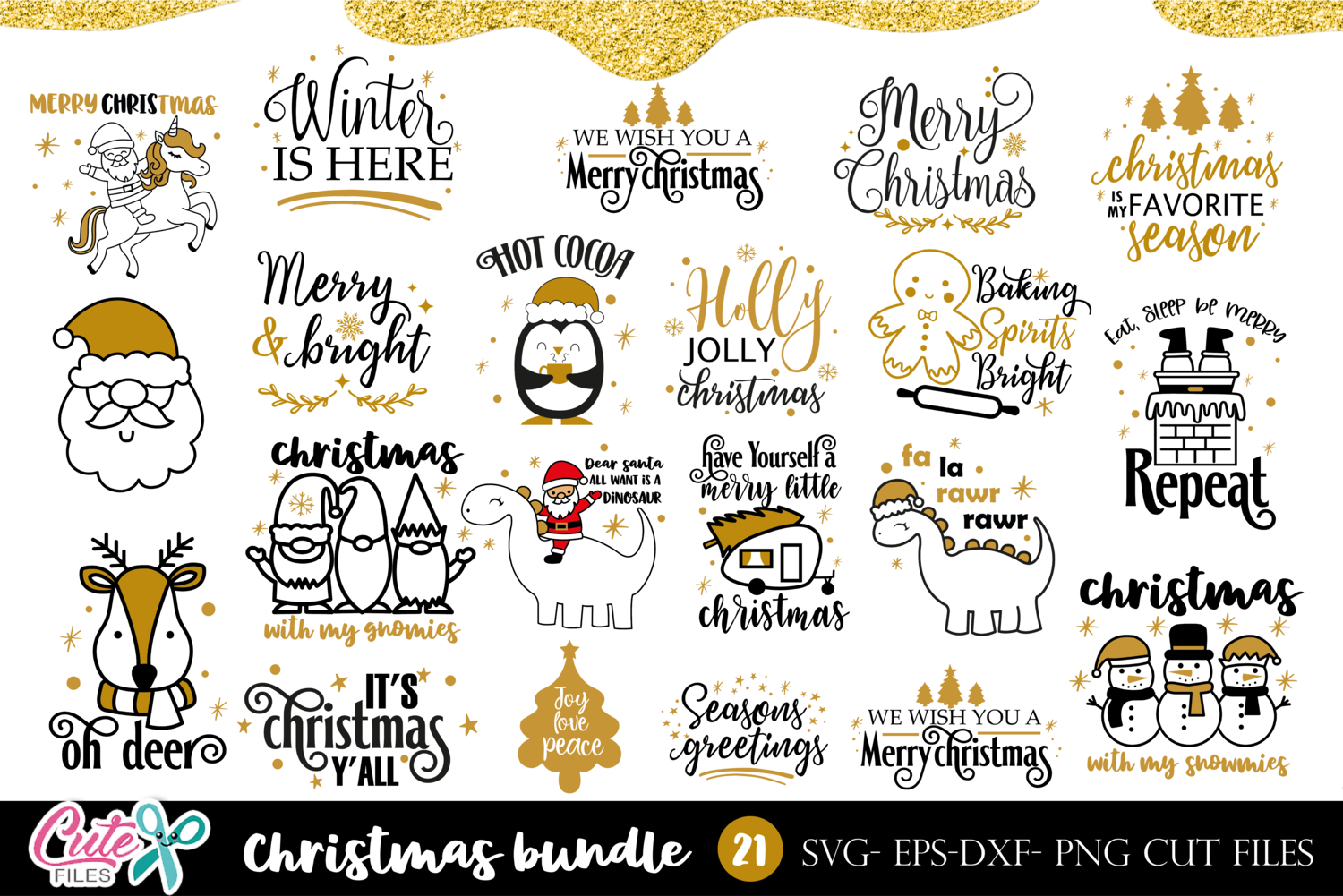 Christmas Quotes Bundle For Crafter Graphic By Cute Files Creative Fabrica