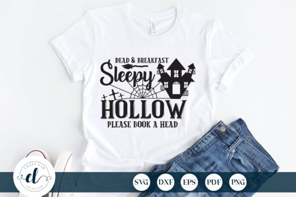 Dead & Breakfast Sleepy Hollow Graphic Crafts By CraftlabSVG