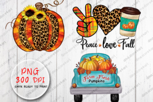 Fall Sublimation Bundle Graphic Crafts By dina.store4art 2