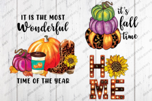 Fall Sublimation Bundle Graphic Crafts By dina.store4art 3