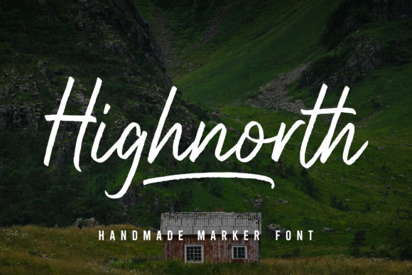 Print on Demand: Highnorth Script & Handwritten Font By deemakdaksina