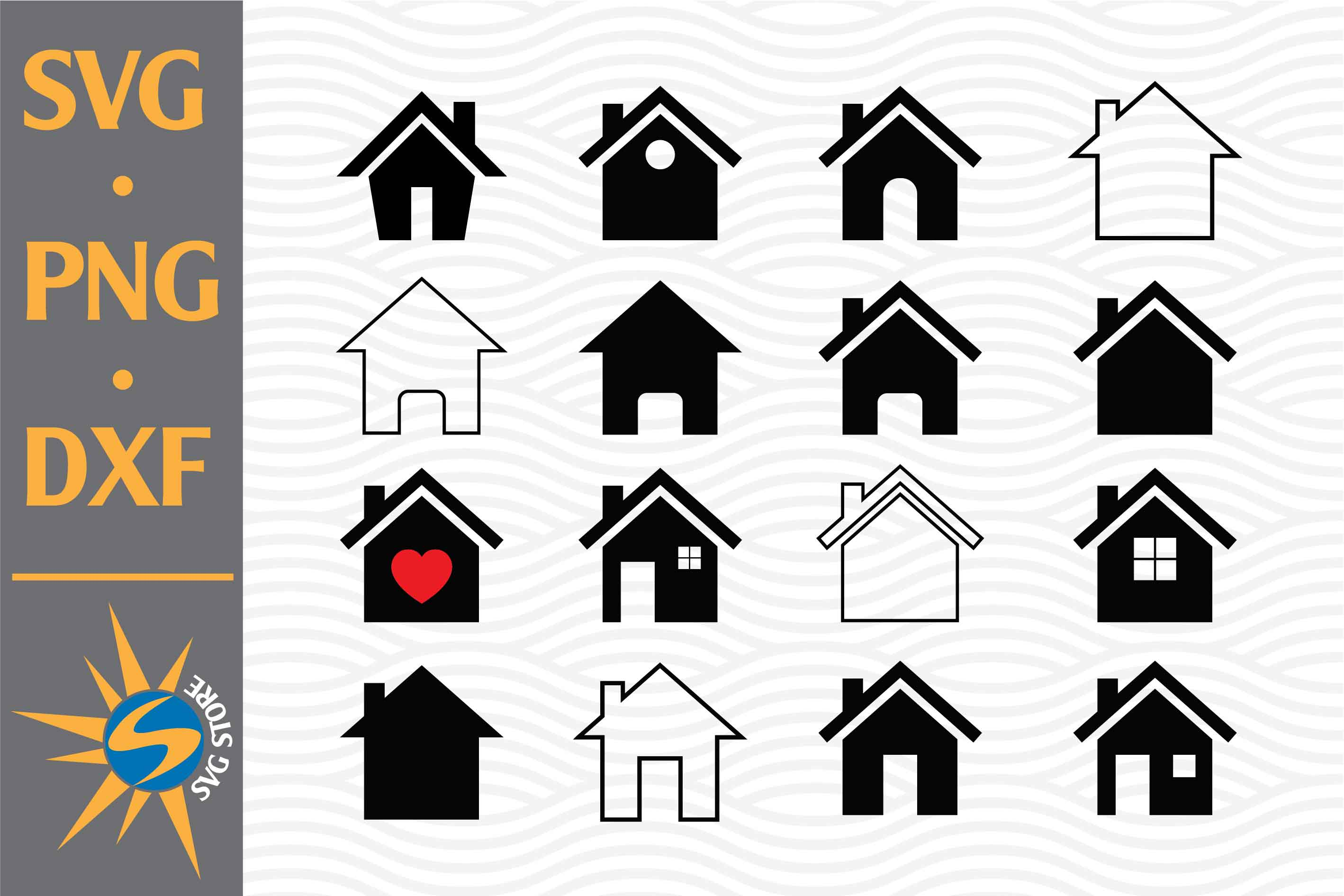 House Graphic SVG File