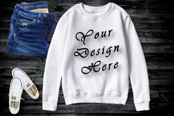 Mockup White Athletic Long Sleeve Graphic Product Mockups By MockupsByGaby