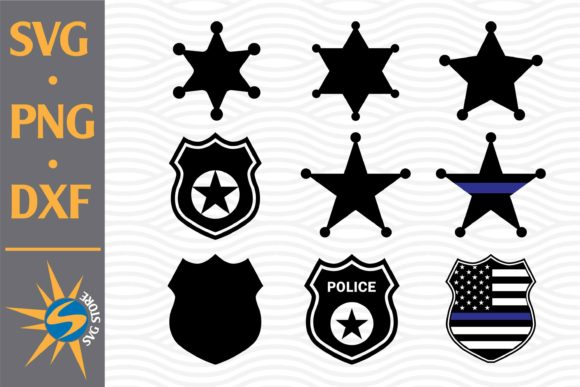 Print on Demand: Police Shield Graphic Crafts By SVGStoreShop