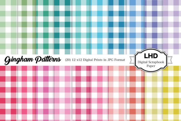Download Fall Gingham Plaid Backgrounds PNG