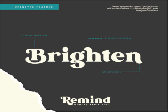 Remind Font Preview