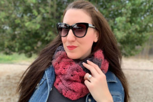 Serendipity Scarf Knit Pattern Graphic Knitting Patterns By Knit and Crochet Ever After