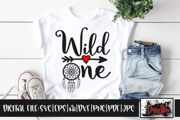 Wild One Graphic Illustrations By DrissyStore