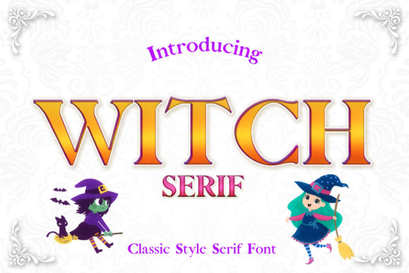 Print on Demand: Witch Serif Font By numnim