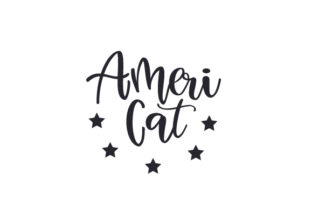 Ameri-Cat Independence Day Craft Cut File By Creative Fabrica Crafts