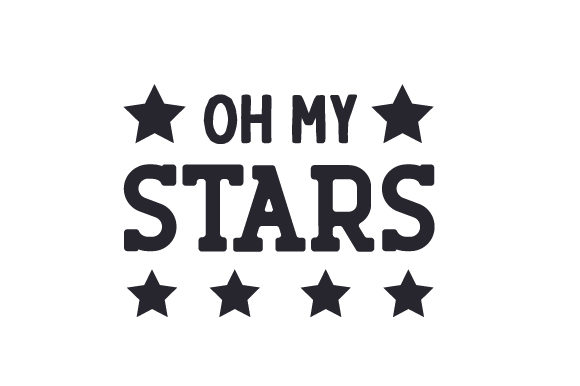 Oh My Stars Independence Day Craft Cut File By Creative Fabrica Crafts