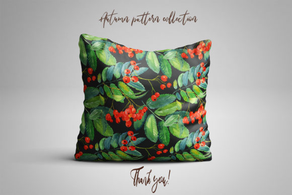 Autumn Pattern Collection Graphic Image