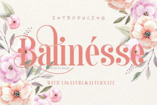 Print on Demand: Balinesse Display Font By dnartdesignn