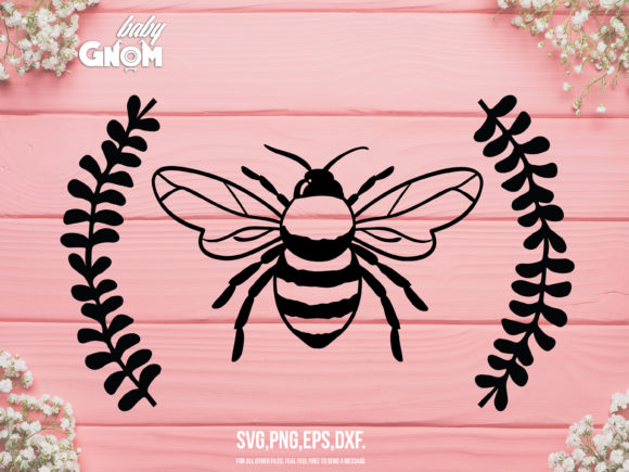 Bee, Honey Bee, Bumble Bee Graphic Crafts By babyGnom