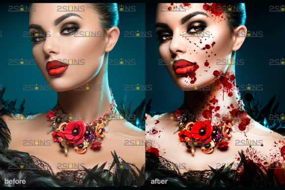 Blood Splatter Photoshop Overlay V7 Graphic By 2suns Creative Fabrica Textures > splatters and smears > blood splatters. blood splatter photoshop overlay v7
