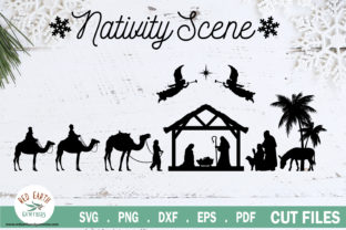 Christmas Nativity Scene Graphic Crafts By redearth and gumtrees