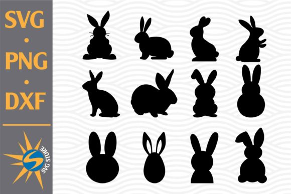 Print on Demand: Easter Silhouette Graphic Crafts By SVGStoreShop