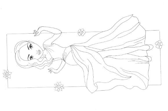 Fashion Coloring Pages Pack Graphic Item