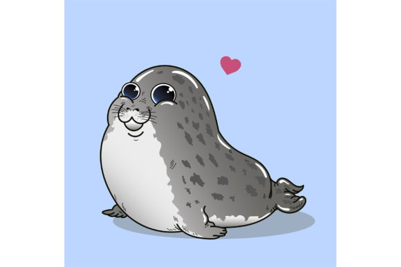 From Seal with Love. Graphic Illustrations By Sasha_Brazhnik
