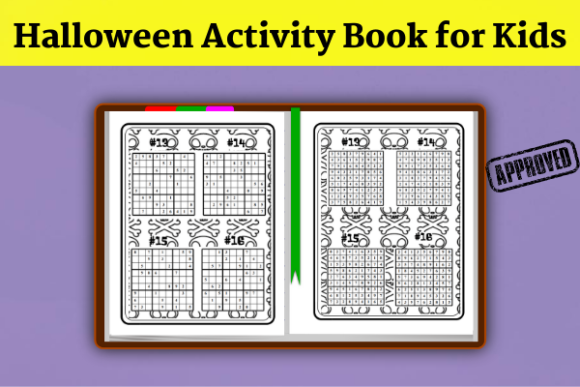 Halloween Activity Book( KDP Interiors ) Graphic KDP Interiors By Wiss_Tips designs - Image 5