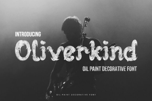 Print on Demand: Oliverkind Display Font By naulicrea