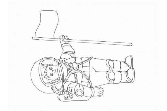Space Coloring Pages Pack for Kids Graphic Coloring Pages & Books Kids By POD