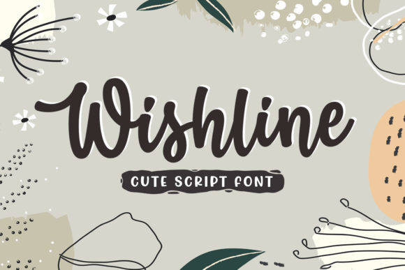 Print on Demand: Wishline Script & Handwritten Font By Subectype