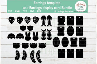 Print on Demand: Animals Faux Earrings Graphic Crafts By redearth and gumtrees