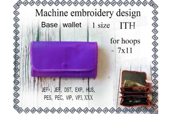 Base Wallet Embroidery Download