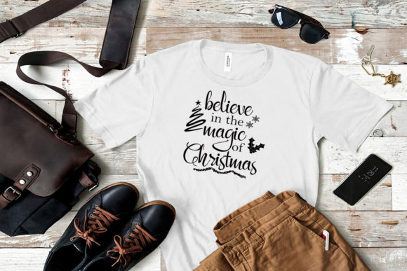 Believe in the Magic of Christmas Graphic Download