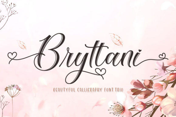 Print on Demand: Bryttani Script & Handwritten Font By softcreative50