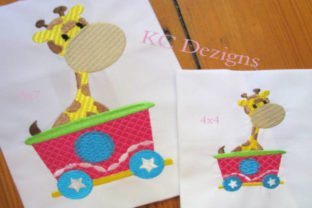 Circus Party Train Full Set Circus & Clowns Embroidery Design By karen50 4