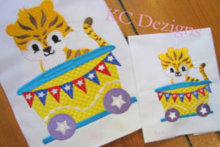 Circus Party Train Full Set Circus & Clowns Embroidery Design By karen50 8